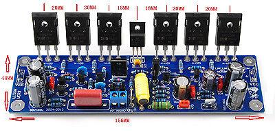 Assemble Mono L150W FET Power Amplifier Board IRFP240*6