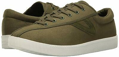Tretorn Herren Schuhe Sneakers (Tretorn Men's Nylite Plus Casual Canvas Lace Up Sneakers Olive Canvas)