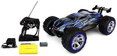 RC 1:12 Racing Land Buster 4WD RTR 2,4 GHz mit Fernbedienung Farbe Blau 25+ km/h
