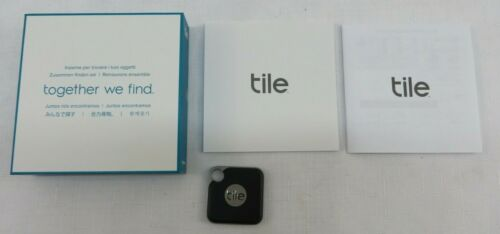 Tile Pro Black with Replaceable Battery T6001B