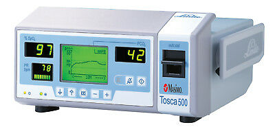 RADIOMETER TOSCA 500 MASIMO SET SPO2 PULSE PATIENT PCO2 OXIMETER MONITOR OXYGEN for sale  Shipping to United States