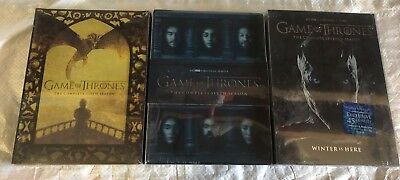 Game of Thrones: Season 5,6,7 DVD Set The Complete Fifth Sixth Seventh New