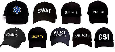 Cap  Hat Low Profile Law Enforcement Security Police SWAT EMT  Supreme Rothco  (Swat Hats)