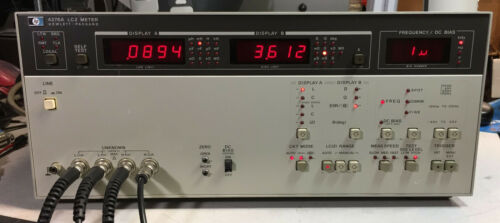 HP Agilent 4276A Multi-Frequency LCZ Meter