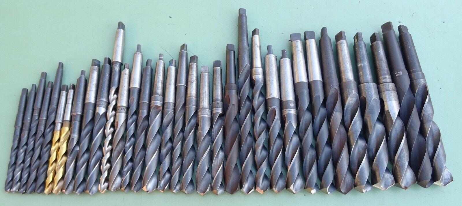 Spiralbohrer MK3 HSS 23,5 mm WMW Werkö Morsekegel Dampfbehandelt