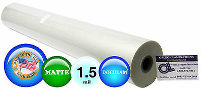 Doculam Hot Laminating Film 27 X 500 On 1 Core 1.5 Mil 1 Roll Matte