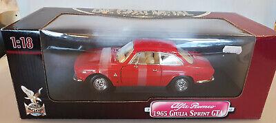 Yat Ming Alfa Romeo 1965 Giulia Sprint GTA 1:18 Diecast Modellauto Neu+OVP