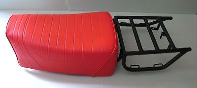 Sitzbank + Gepäckträger  für BMW R80G/S, R80ST  R65GS Nachfertigung NEU orange