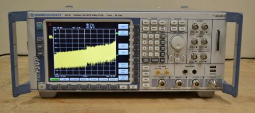 Rohde Schwarz FSUP50 Signal Source Analyzer 10MHz-50GHz LOADED w/Options GOOD