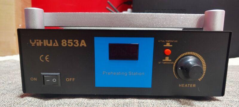 YIHUA 853A ESD BGA Rework Station PCB Preheat Desoldering 110V