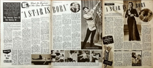 Judy Garland A Star Is Born Amazing Story Of The Making Of… Vintage Article 1954