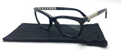 Karl Lagerfeld Plastic Black Eyeglasses KL852 0012 52 15 135