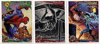 1997 Fleer ULTRA SPIDER-MAN BLUE FOIL Singles - Rare