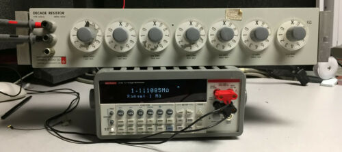 General Radio 1434-G Decade Resistor Box, Equivalent to 1433-31 1433-G 1433-9731