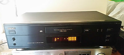 HI-FI VINTAGE PLAYER/LETTORE CD TEAC CD-P4000, PERFETTO