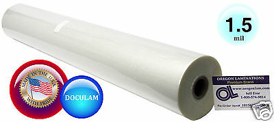 Doculam Hot Laminating Film 25 X 500 On 1 Core 1.5 Mil American 1 Roll