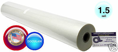 Doculam Hot Laminating Film 27 X 500 On 1 Core 1.5 Mil American 1 Roll