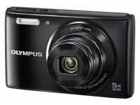 Olympus STYLUS VG-180 Digital Compact Camera - (16MP, 5x Wide Optical Zoom) 2.7 inch LCD
