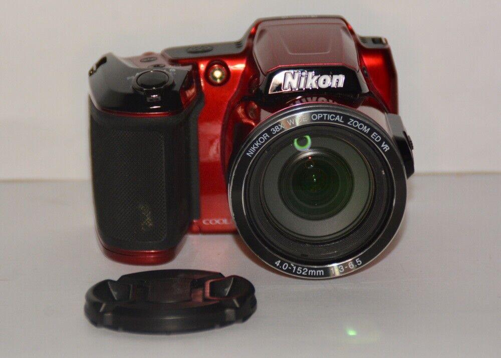 Nikon COOLPIX L840 16.0MP Digital Camera - Red - $129.50
