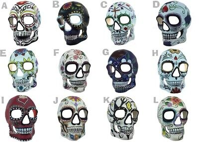 Dia de Muertos Sugar Skull Masquerade Mask Day of the Dead Costume Make up Party](Day Of The Dead Make Up)