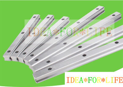 1pc New Hiwin Hgr15 Series Hgr15h Linear Guide Way Rail Barlength 100 To 1000mm
