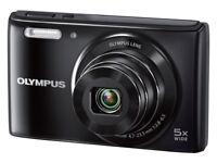 Olympus STYLUS VG-180 Digital Compact Camera - (16MP, 5x Wide Optical Zoom) 2.7 inch LCD