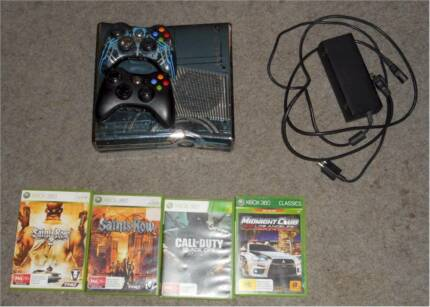 Xbox 360 console Slim Halo4 Edition Plus 4 Games Bundle