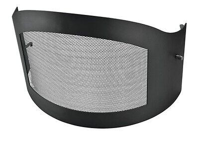 Funkenschutztür Stahl für ASADO Grillkamin Terrassenofen Gartenkamin Kamin Ø 70