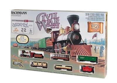 Bachmann Trains American Civil War Confederate Army Train Set 00709 HO Scale