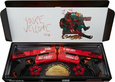 Nerf Rival Deadpool Precision Battling DUEL Kronos Marvel Special Edition 2 Pck