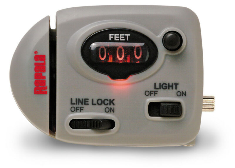 Rapala Lighted Fishing Line Counter RLLC for Trolling or Bottom Fishing to 999