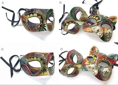 Couples Cat woman Masquerade Ball Mask Pair Christmas New Year Costume Party - Couple Cat Costumes