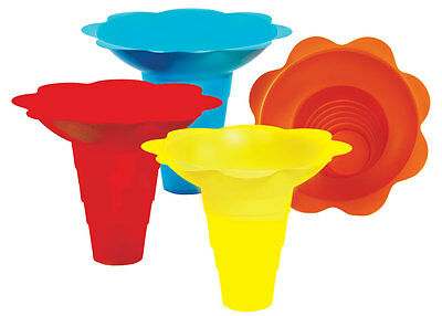 Flower Sno-cone Drip Tray Cups 12 Ounce 100 Total. 6504