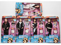 """A FULL COLLECTION OF 5 OFFICIAL SINGIN HEAR SAY 12"""" DOLLS"""