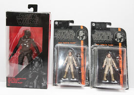 HASBRO LIMITED EDITION FIGURES FROM STAR WARS THE BLACK SERIES