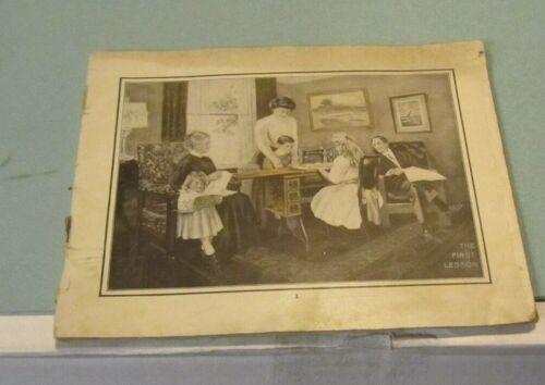1910 Era Singer Sewing Machine Catalog Vibrating Oscillating Shuttle Rotary Hook