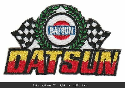 DATSUN Aufnäher Aufbügler Patches Auto cars Sunny Laurel ZX280 Z350 Japan v1