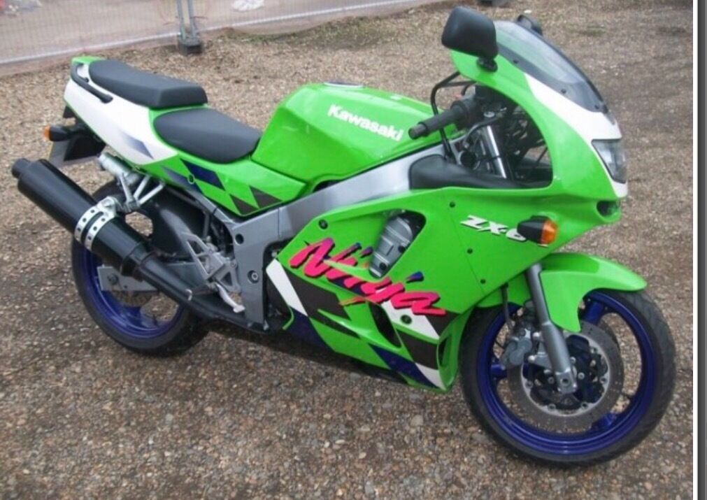 kawasaki zxr 600 ninja f3 in newcastle under lyme staffordshire gumtree. Black Bedroom Furniture Sets. Home Design Ideas