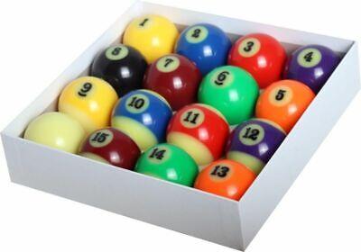 NIB Billiard Glow In The Dark Pool Balls Set 2-1/4