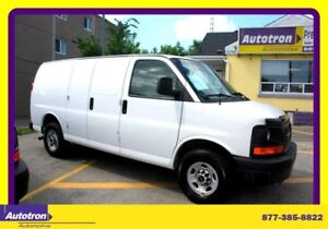 2013 GMC Savana 3500 1 Ton Cargo Van No Windows, Accesories
