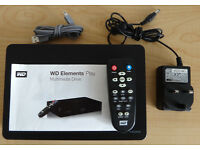 Multi Media Hard Drive - Store and playback photos and video on your TV