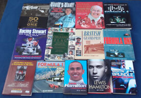Collecion of Formula 1 books & Biographies