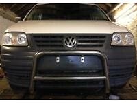 Vw Caddy Chrome Bull Bar/Nudge Bar 2004-2010