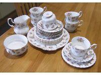 Winsome, Royal Albert 21 piece Tea Set