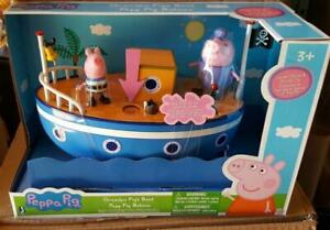 New Peppa Pig Grandpa Pigs Bath-time Boat