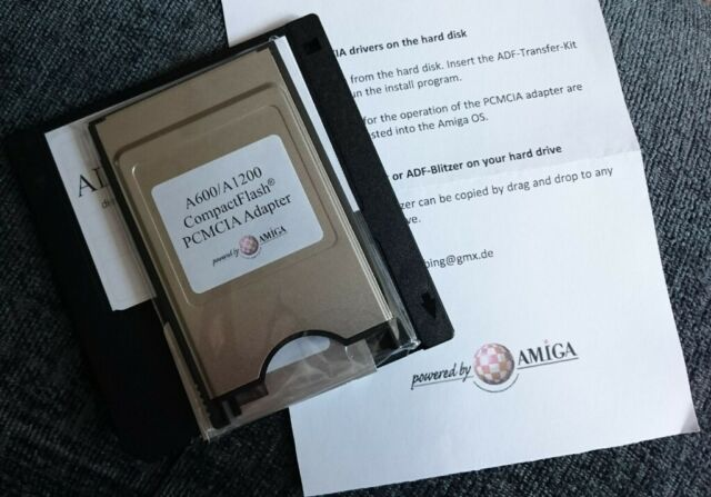 Amiga ADF Transfer-Kit CF PCMCIA (a600/1200)  | in Nottingham City Centre,  Nottinghamshire | Gumtree