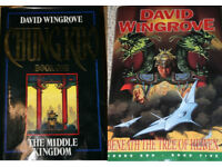 David Wingrove hardback books