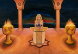 Bournemouth based fantasy artist seeking female muse for new Lady of the lake painting.