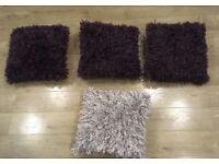 4 beautiful cushion - fantastic price £50 for all 4