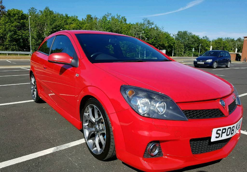 2008 Astra VXR 2.0 Turbo Power Red 240bhp For Sale